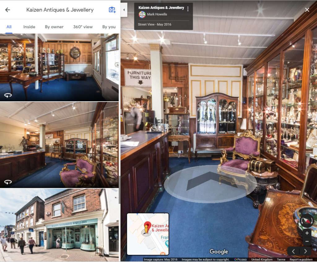 """Step Inside with a Google Street View Tour!, """"Step Inside"""" with a Google Street View Tour!"""